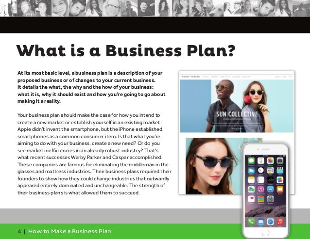 How to make an business plan