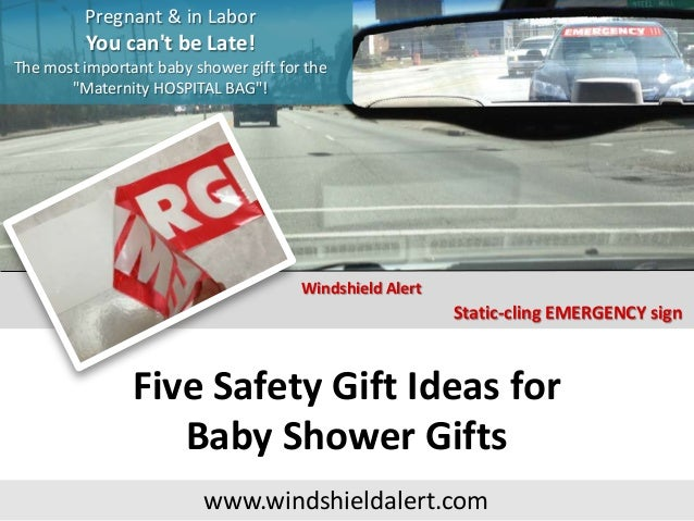 Five Safety Gift Ideas for Baby Shower Gifts