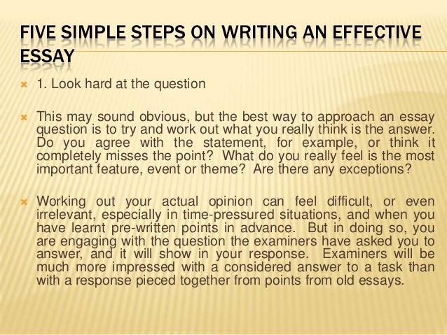 Guide to Essay Writing - Four steps of Essay Writing - Marianopolis