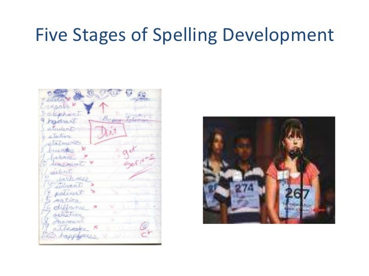 Five Stages of Spelling Development<br />