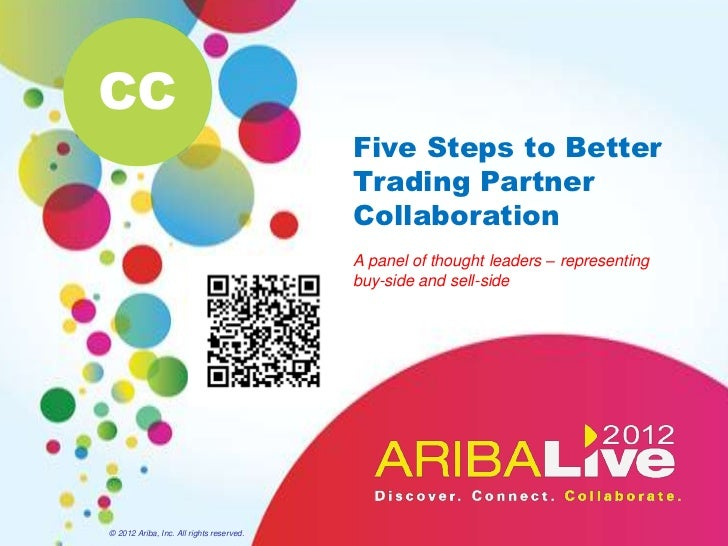CC                                          Five Steps to Better                                          Trading Partner ...