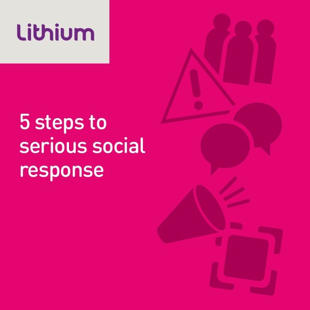 5 steps to serious social response