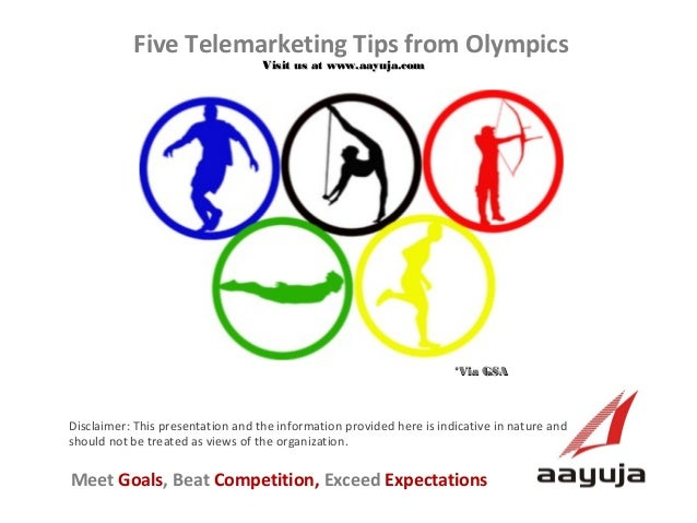 Five Telemarketing Tips from Olympics