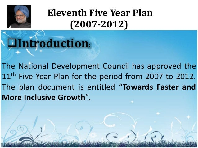 11th five year plan By owen haacke china's policymakers are starting to reveal details about the direction of the country's next five-year plan (fyp), the central government.