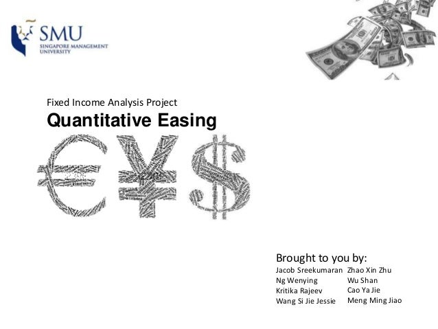 quantitative easing overview Qe programs were implemented by the central banks to stimulate the western  economies after the financial crisis of 2008 central banks.