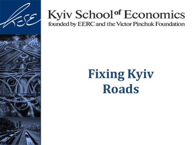 Fixing Kyiv Roads