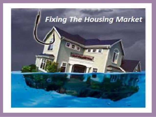 The scope of the problem in the American housing market is illustrated by the statistics that total negative equity is pre...