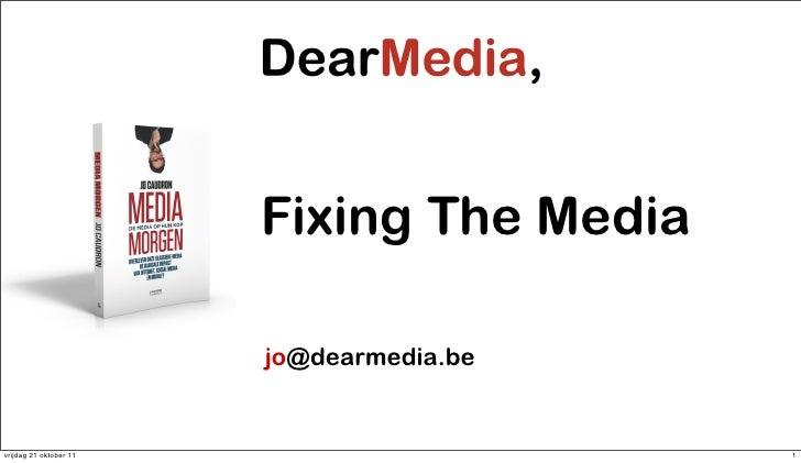 Fixing the media short boom xy