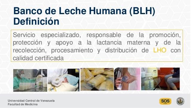 Bancos de leche humana en Venezuela Garantía de vida. MSc