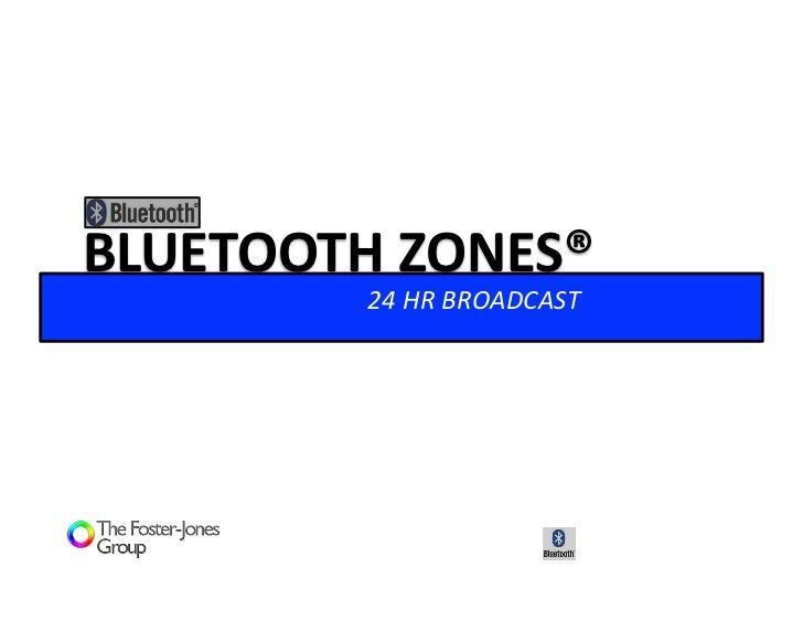 Bluetooth Zones