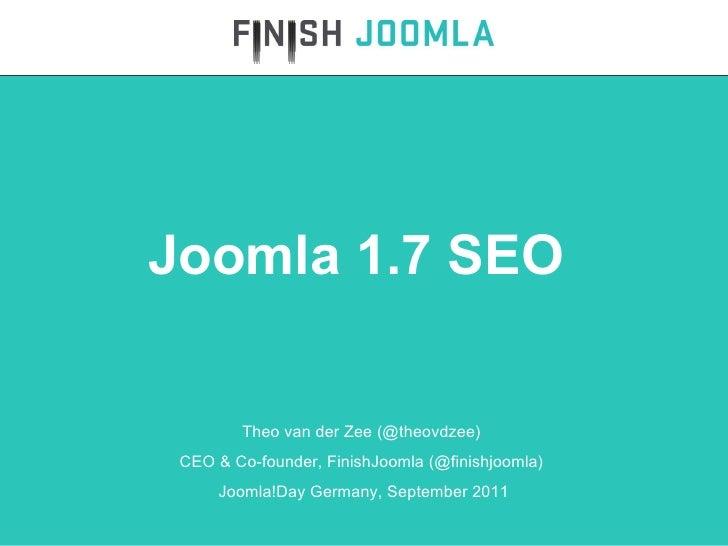 Joomla 1.7 SEO