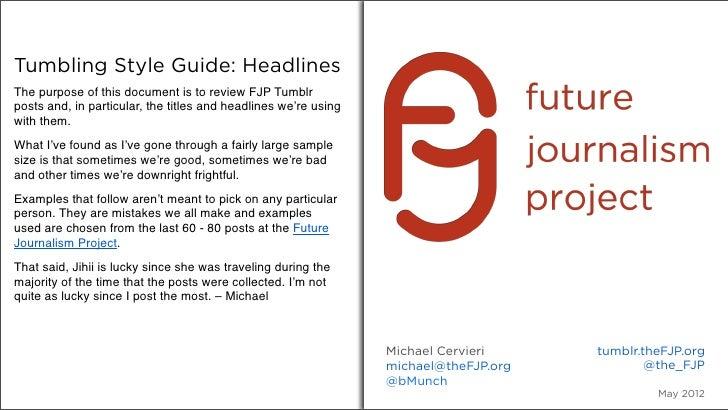 Fjp style guide-headlines