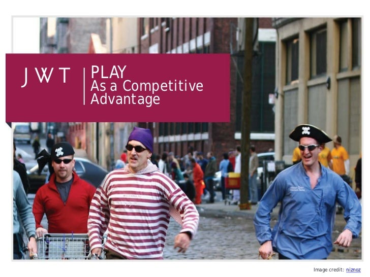 Play as a Competitive Advantage (July 2012)