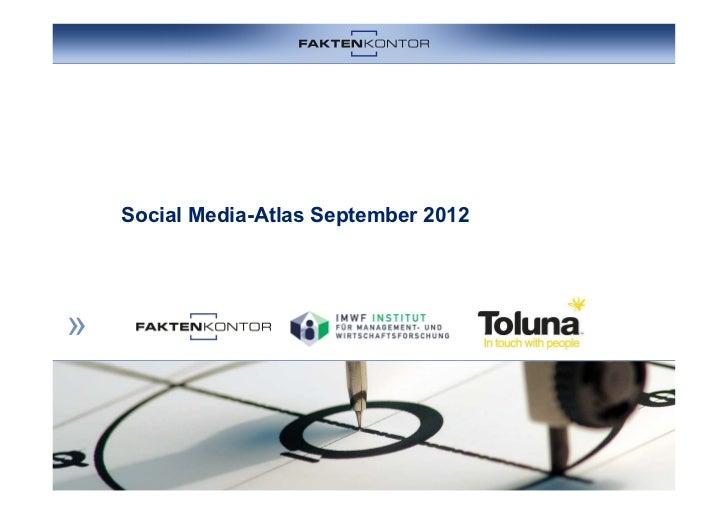 Social Media Atlas 2012