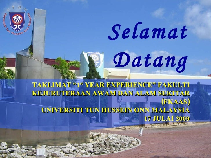Fkaas Taklimat 1st Year Experience