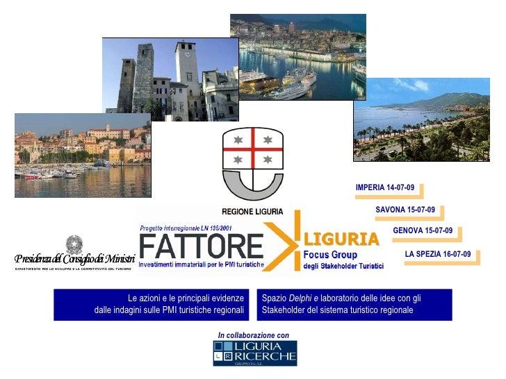 Fattore K Liguria - Sintesi dei risultati