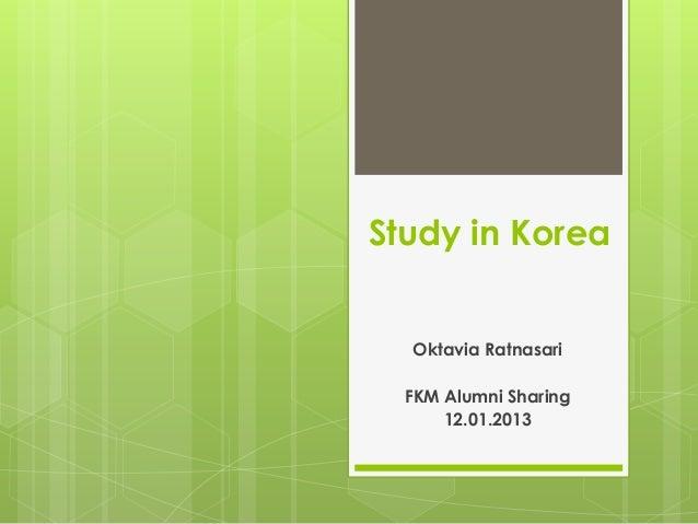 Sharing dan Tips Berburu Beasiswa by Oktavia