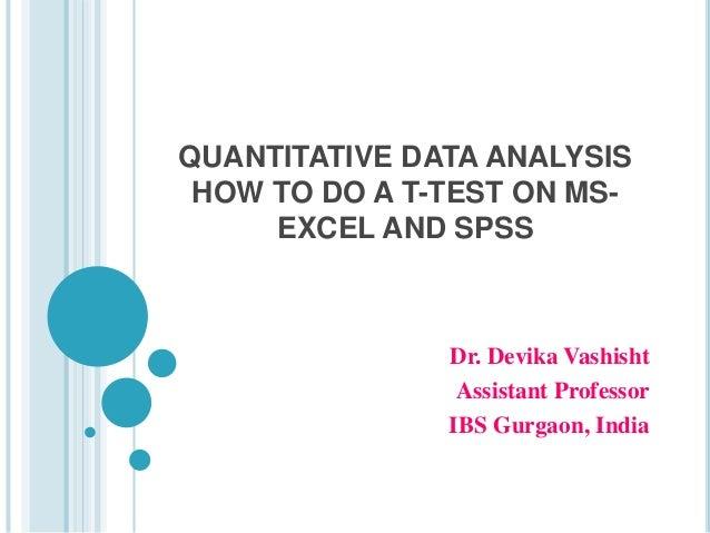 How do I do a data analysis?
