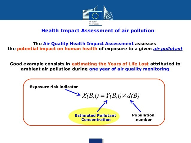 Health Assessment Example Health Impact Assessment of