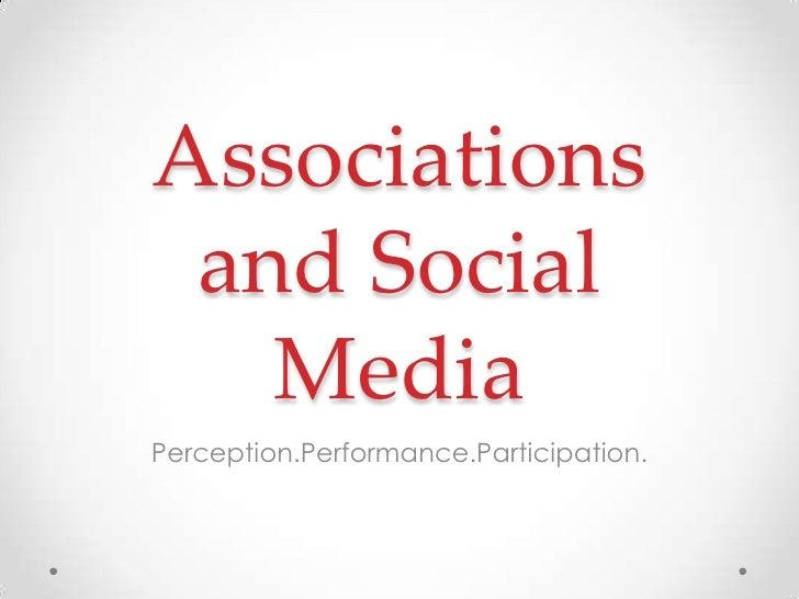 Social Media and Realtor Associations