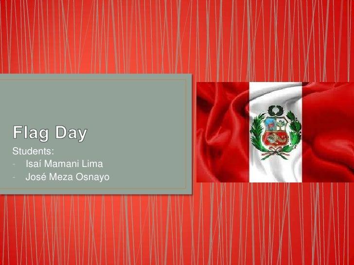 Students:- Isaí Mamani Lima- José Meza Osnayo