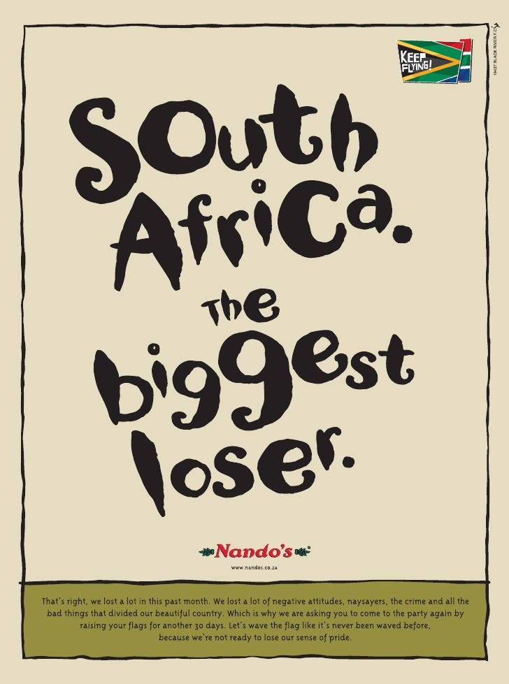 SA is the biggest loser!