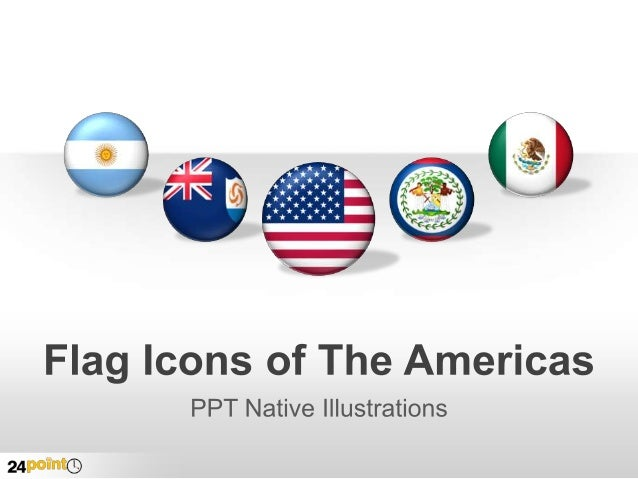 Flag Icons The Americas  Insert text here insert text here  Insert text here insert text here  Insert text here insert t...