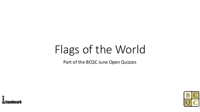 Flags of the world (answers)
