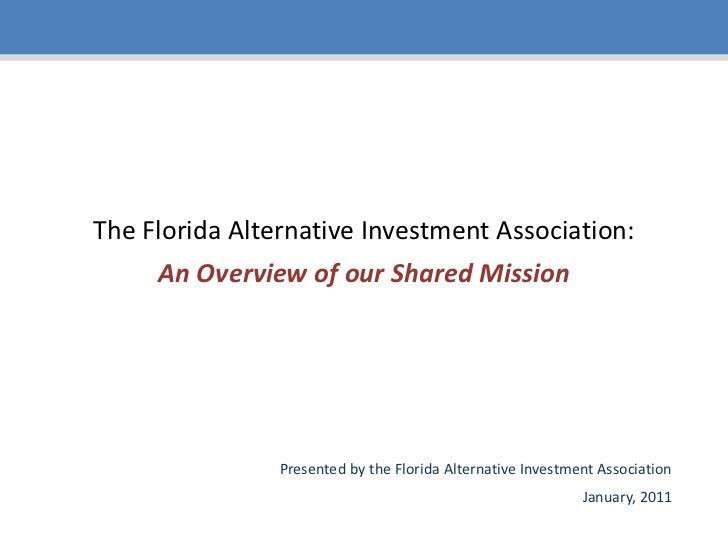 Florida Alternative Investment Association