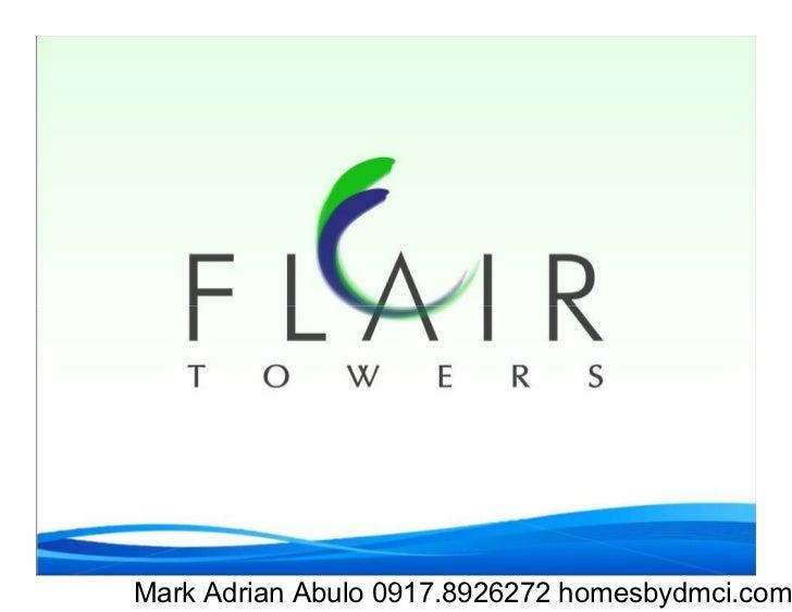 Mark Adrian Abulo 0917.8926272 homesbydmci.com