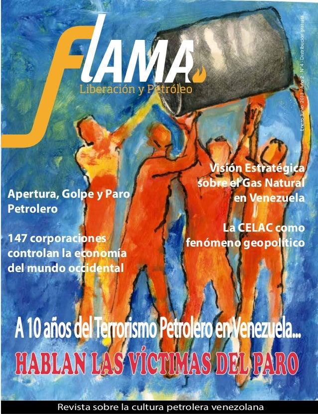 Revista Flama, liberación y petróleo N° 4