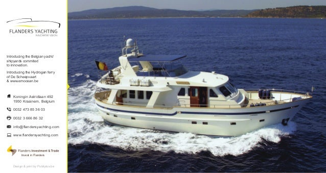 Flanders Yachting Brochure 2012