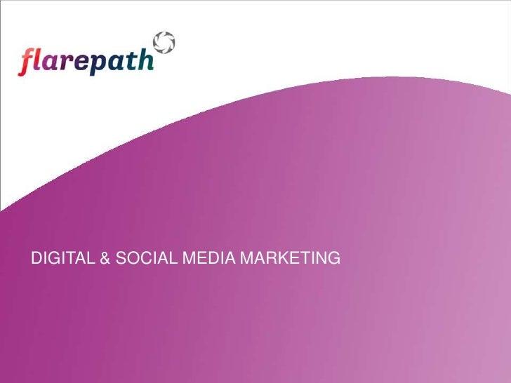 Flarepath corporate profile