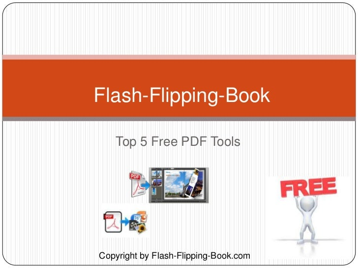 Flash-Flipping-Book   Top 5 Free PDF ToolsCopyright by Flash-Flipping-Book.com