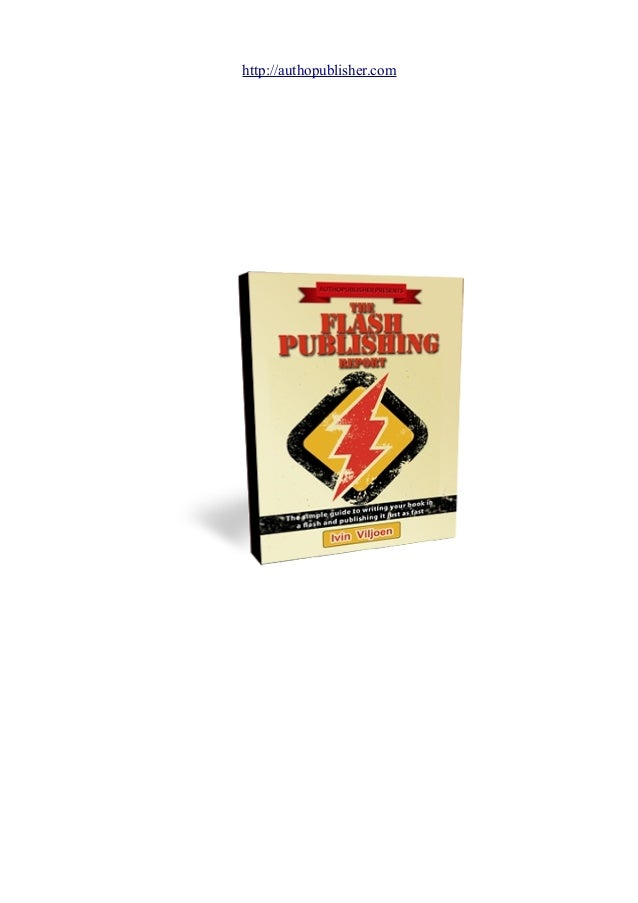 The Flash Publishing Report
