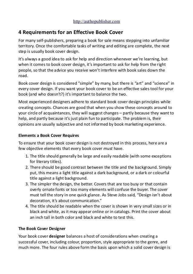 Preparing a book report » roe51 org