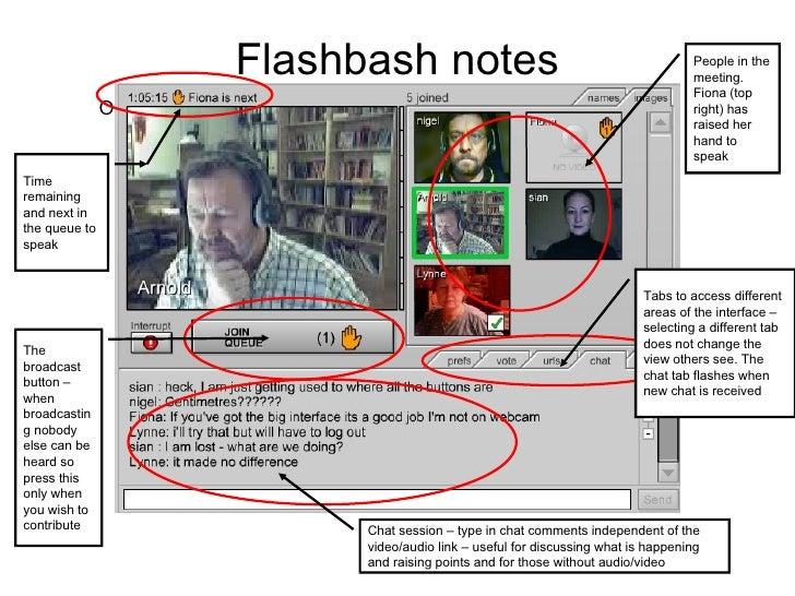 Flashbash Notes