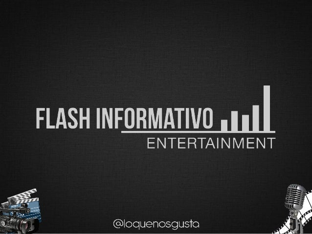 FLASH INFORMATIVOPREMIOS OSCAR