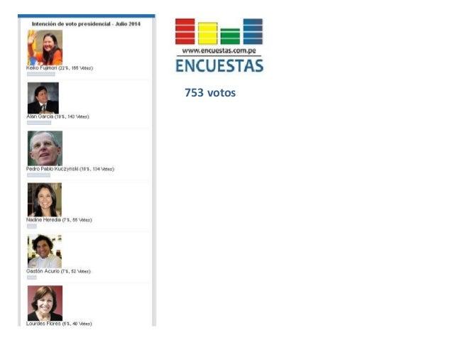 Flash electoral resultados julio 2014