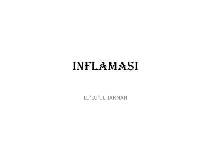 Flash patologi inflamasi