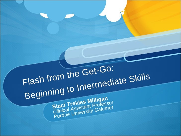 Intro to Adobe Flash