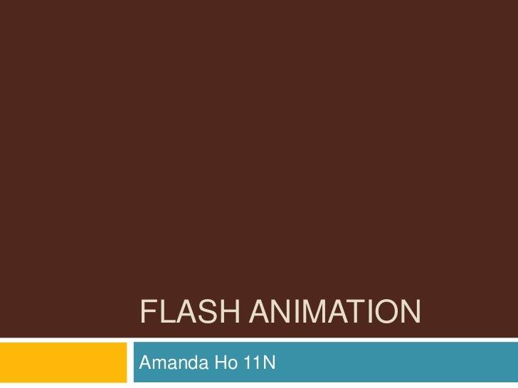 FLASH ANIMATIONAmanda Ho 11N