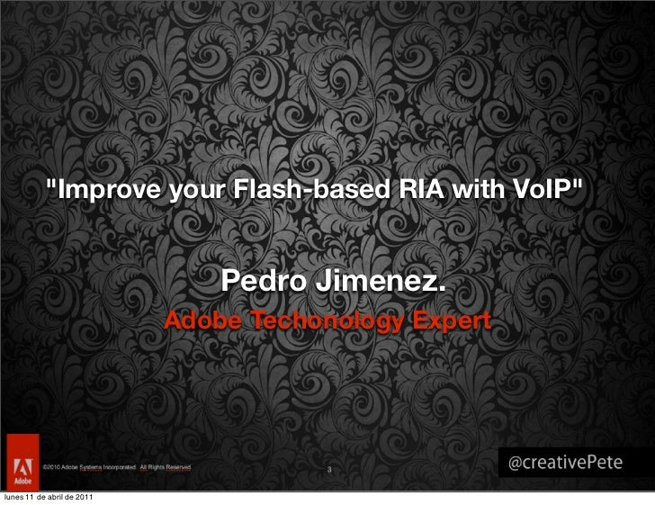 Improve your Flash-based RIA with VoIP