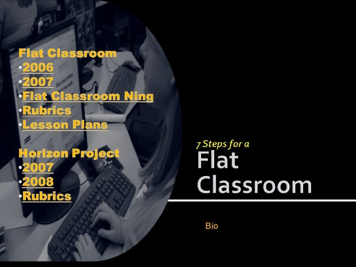Flat Classroom Mashups, 7 Steps to Flatten your Classroom