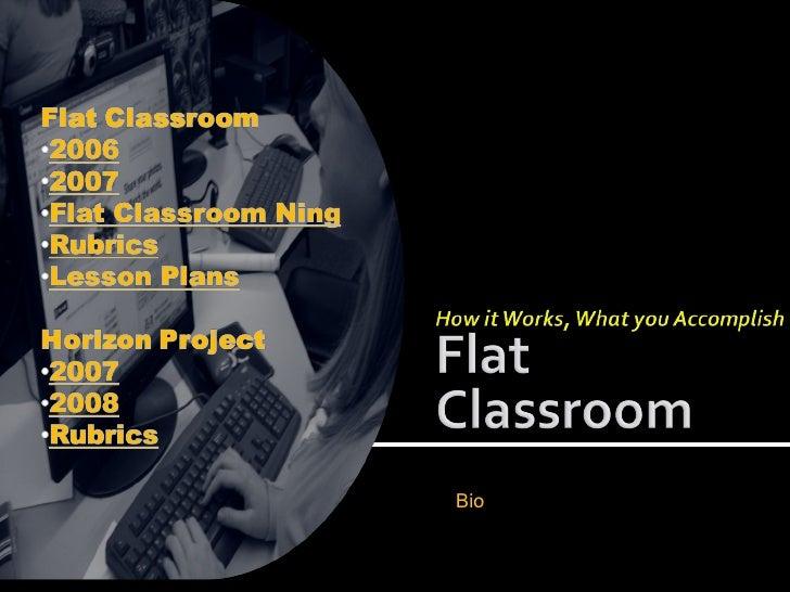 Flatclassroom Presentation Il Tce