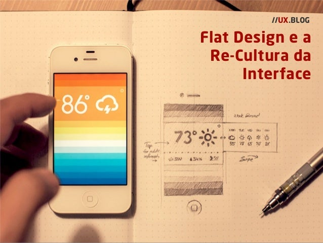 Flat Design e a Re-Cultura da Interface