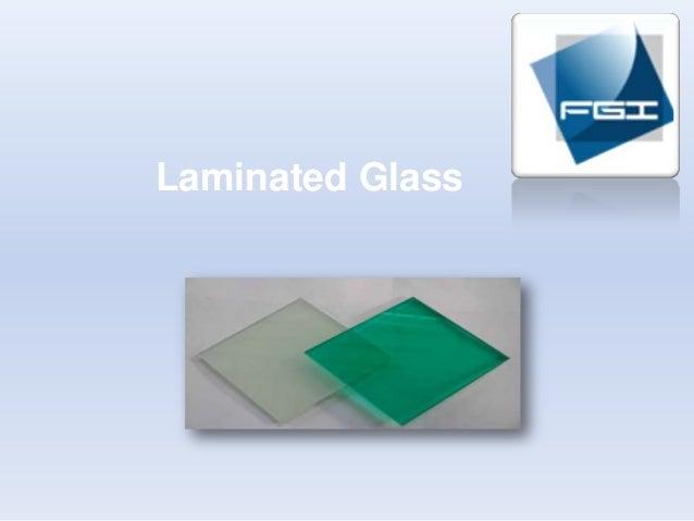 Flat glass laminated-glass