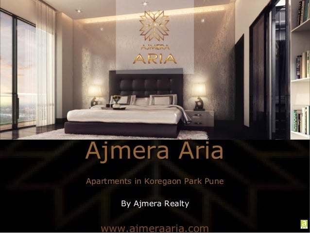 Apartments in Koregaon Park Pune by Ajmera Realty
