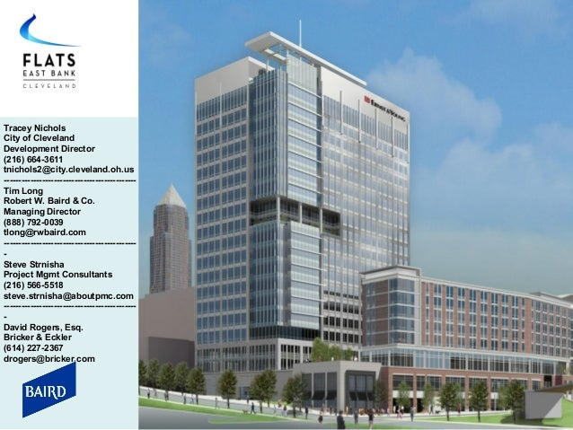 Flats East Bank Presentation- Ohio Meeting of CDFA