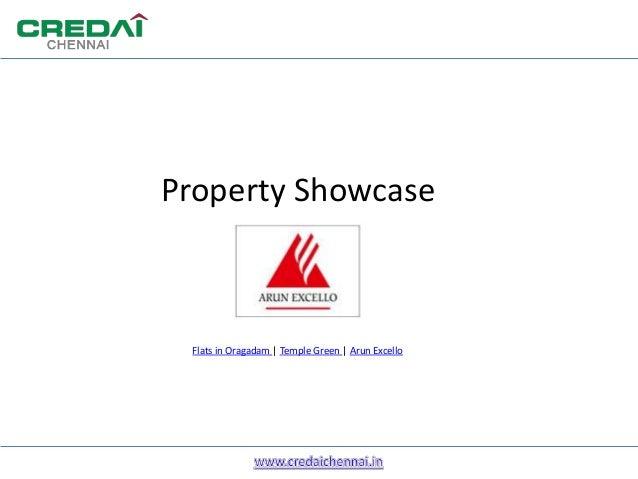 Property ShowcaseFlats in Oragadam | Temple Green | Arun Excello